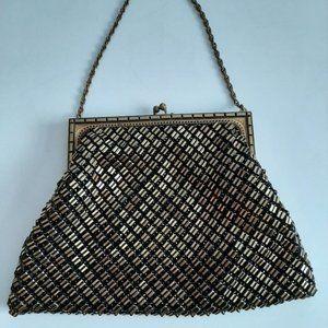 Vintage Whiting & Davis evening bag
